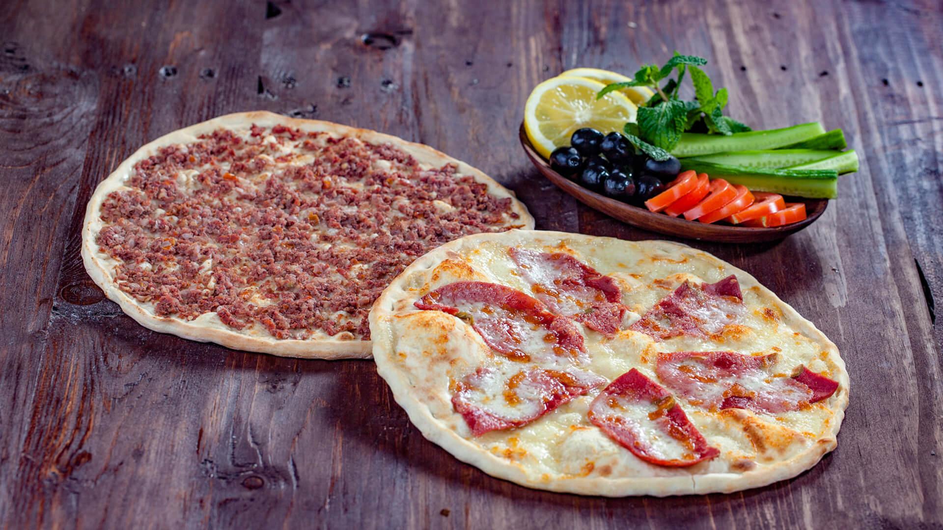 Ham Cheese x Lahm Baajin Manakish